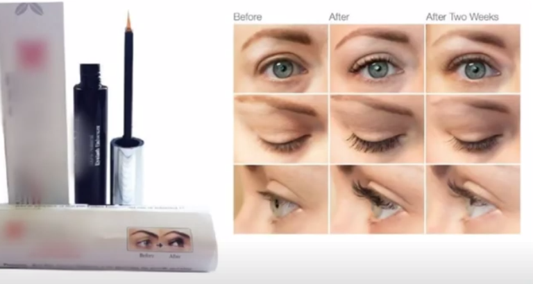 the effect of using eyelash growth serum