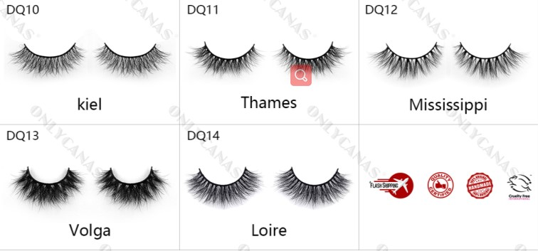 most natural faux lashes