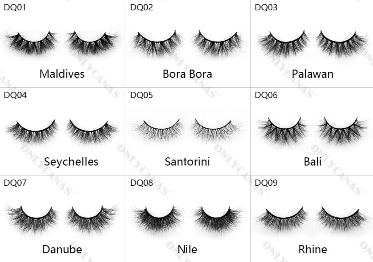 most natural lashes
