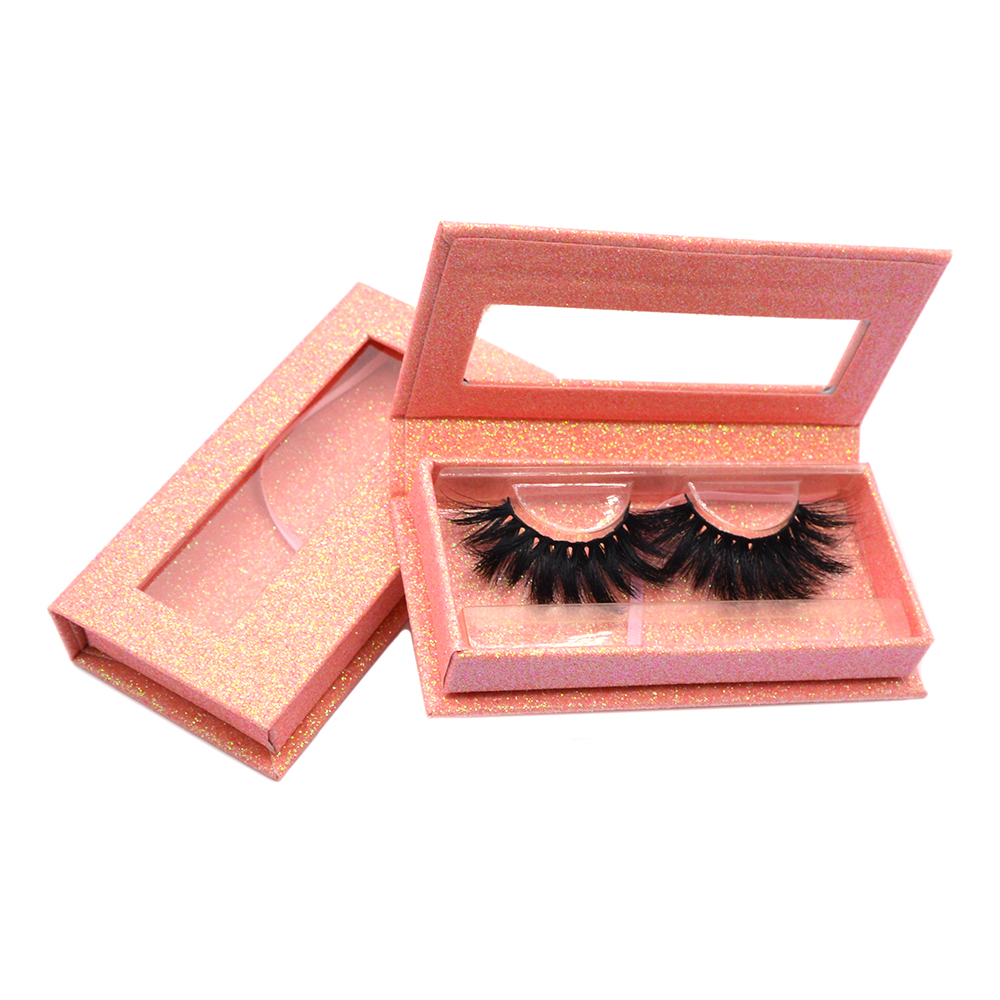 pink cheap lash cases in bulk