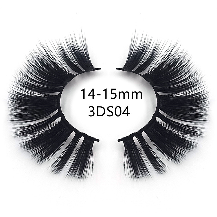 wholesale silk fan eyelashes
