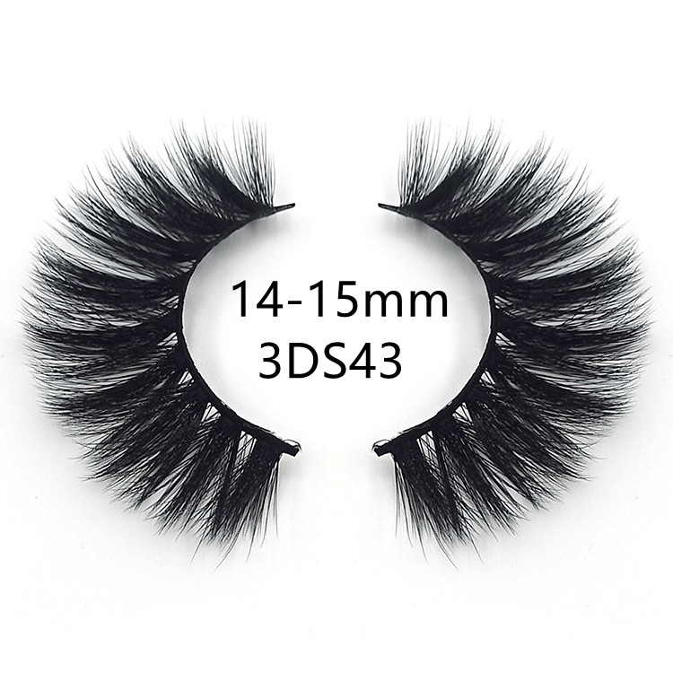 silk criss cross lashes