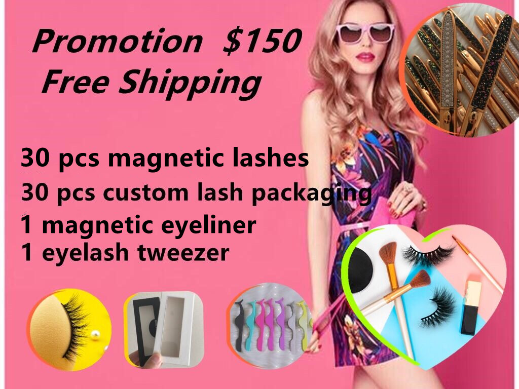big promotion for magnetic lashes