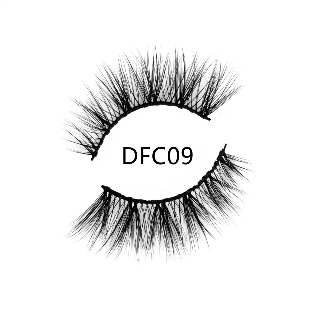 Natural looking magnetic lashes