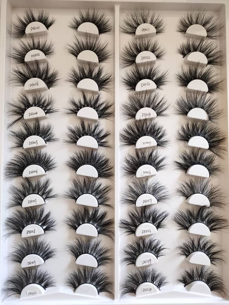 2021 best selling 25mm lashes from best lash vendors