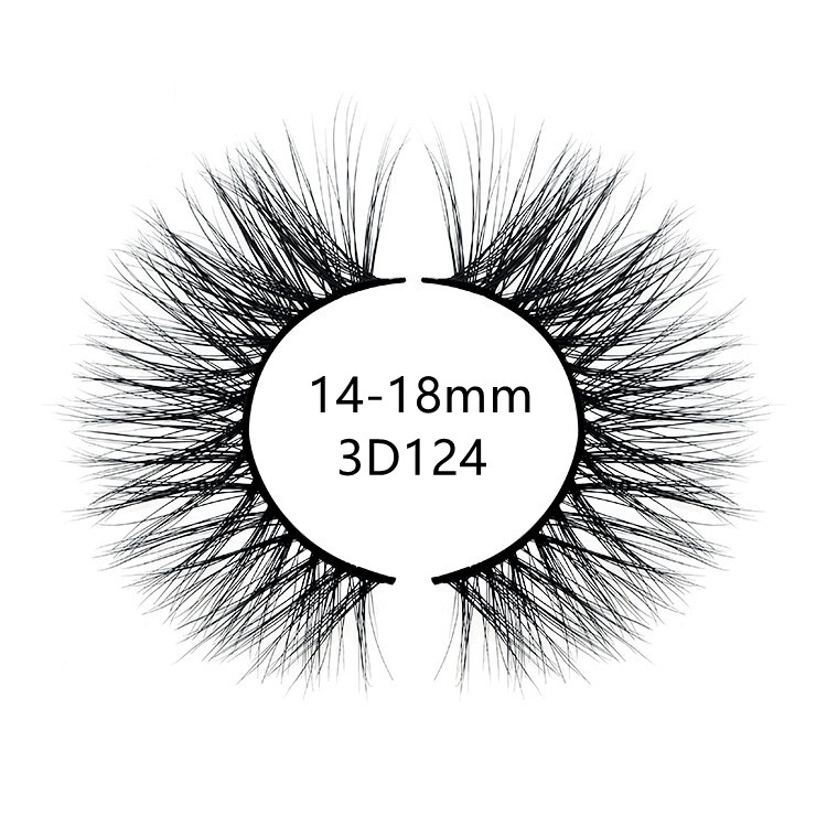 2021 best selling natural looking 3d mink lashes