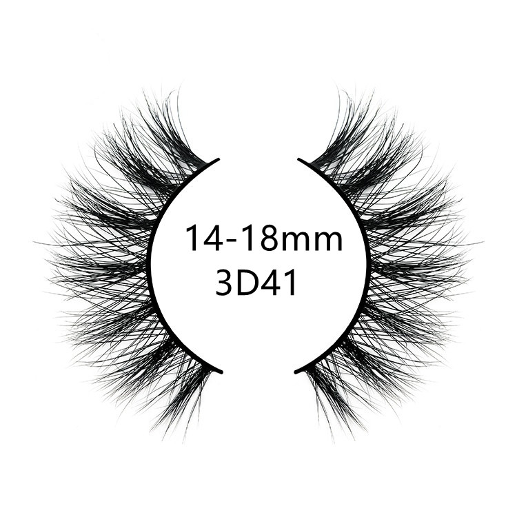 Cruelty free 3d mink lashes customized 3d mink lashes for makeup